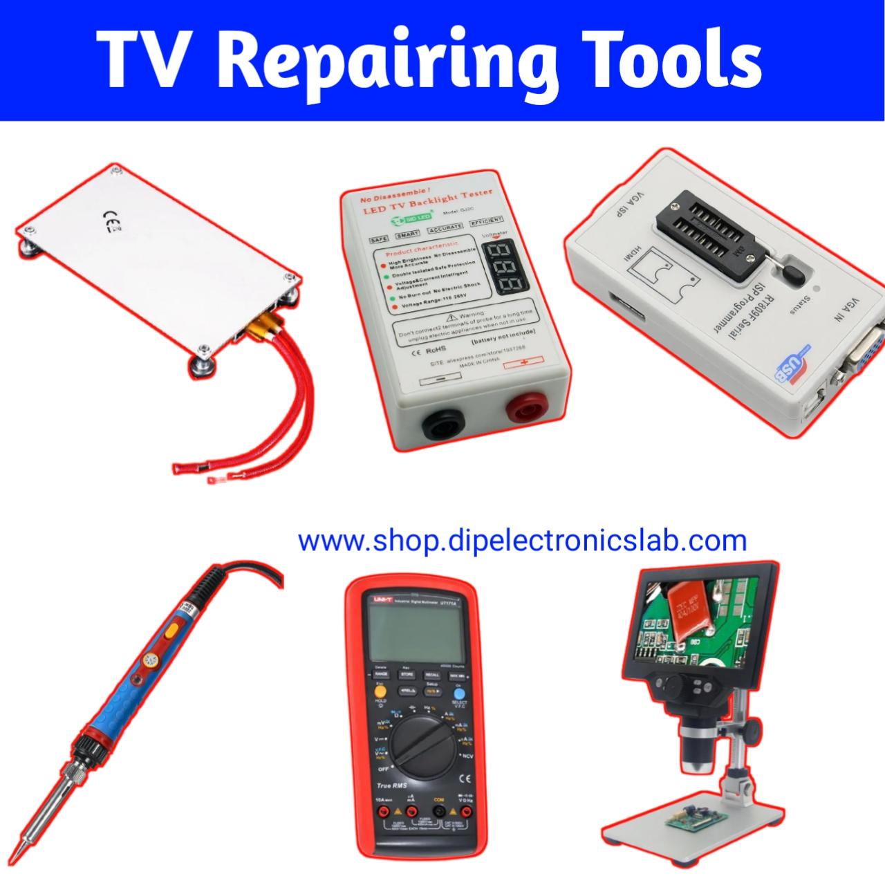 lcd led tv repairing tools