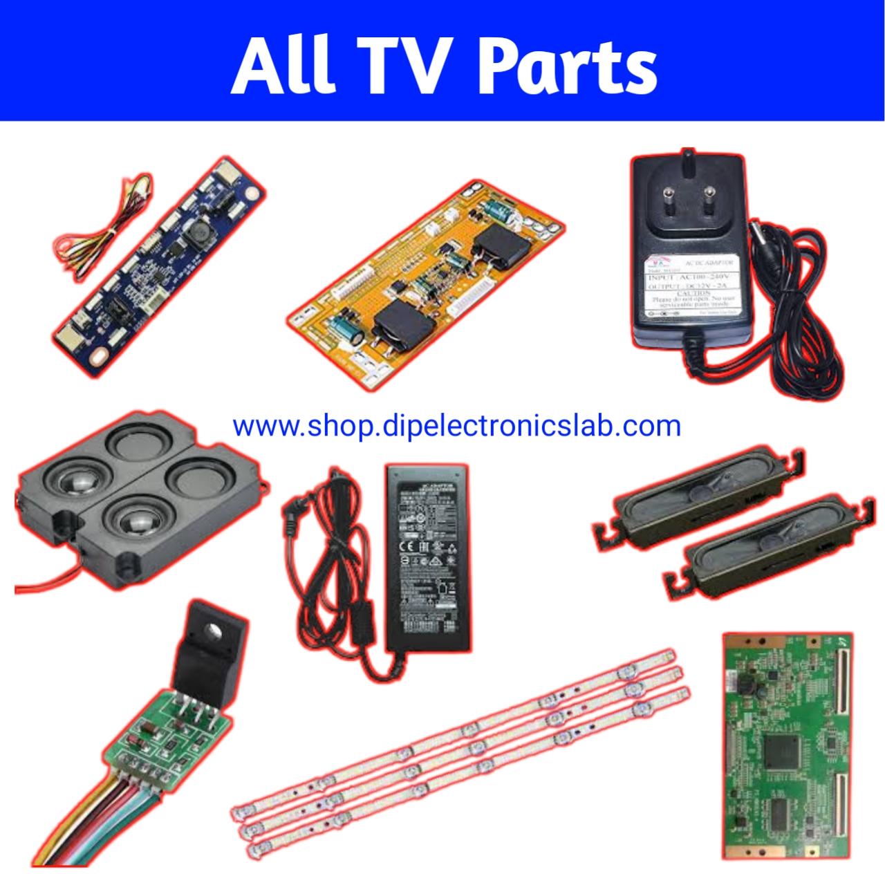 lcd led tv parts
