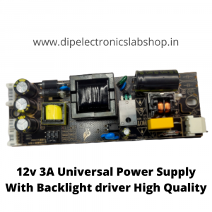 12V Universal Power supply for LED TV with Backlight Driver