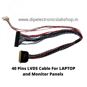 40 Pins LVDS Cable for LAPTOP & MONITOR Panel