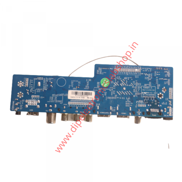 u11 type android motherboard back side